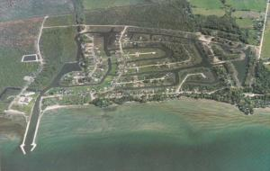 Aerial View, Lagoon City, Lake Simcoe, BRECHIN, Ontario, Canada, 40-60´