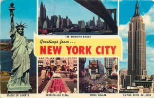 United States New York city multi views