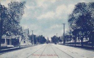 NASHVILLE , Tennessee, 1900-10s ; West End Avenue