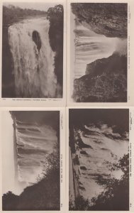 Victoria Falls Rhodesia Devils  Cataract 4x Old Postcard s