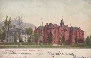 PROVO , Utah, 1906 ; Brigham Young Academy