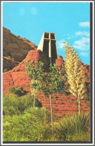 Arizona, Sedona Chapel of the Holy Cross Postcard