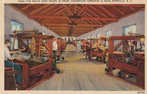 ASHEVILLE , North Carolina , 1930-40s ; Weave Shed
