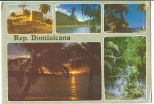 Rep. Dominicana, Dominican Republic, used Postcard