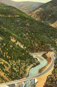 CO - Highway U. S. 40 & Floyd Hill Bridge Across Clear Creek