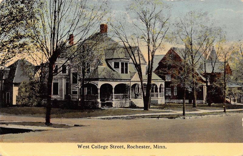 Rochester MN Charles & William Mayo (Clinic) Homes @ W College (4th