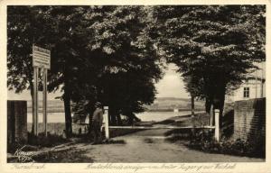 poland germany, KURZEBRACK KORZENIEWO, Weichsel Entrance (1920s) West Prussia