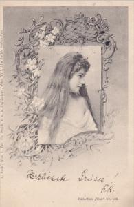 RP: Female Portrait , PU-1901 ;  #108