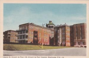 Canada Sherbrooke St Vincent de Paul Hospital