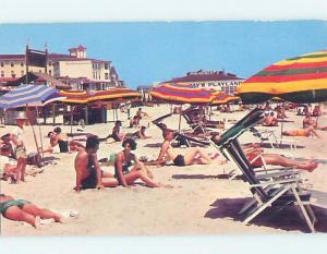 Pre-1980 BEACH SCENE Cape May - Near Wildwood & Vineland New Jersey NJ G5608
