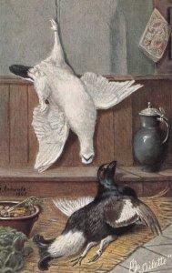 TUCK # 9350 ; STILL LIFE, Ptarmigan & Grouse , 1900-10s