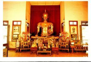 Thailand Bangkok The Golden Budha Of Sukhothai In Wat Traimit Withayaram Wora...
