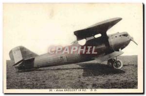 Old Postcard Jet Aviation Jet Breguet 19 H2