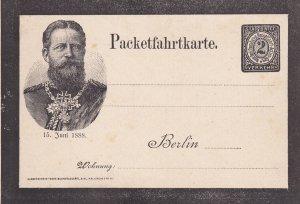 BERLIN , Germany 1880-90s; 15 Juni 1888 , Royal portrait