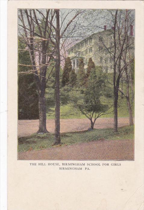 The Hill House, Birmingham School for Girls, BIRMINGHAM, Pennsylvania, 00-10's