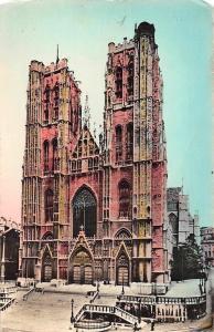 Belgium Brussels Collegial of SS. Michael and Gudule Hoofdkerk Eglise