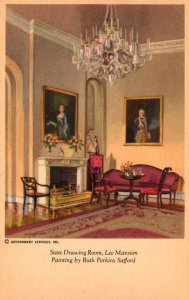 Virginia Arlington Lee Mansion The State Drawing Room Painting By Ruth Perkin...