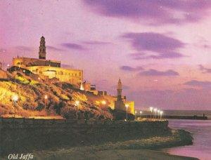Old Jaffa Israel Sound & Light Show Postcard