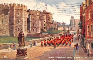 Guard Returning from Windsor Castle Scotland, UK Postal Used Unknown