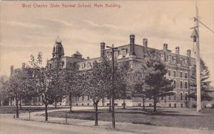 Pennsylvania West Chester State Normal School Main Building 1907