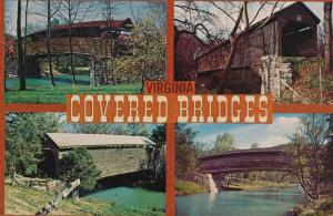 Covered Bridges of Virginia - Humpback - Meems - Smith's Creek