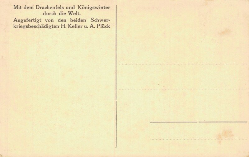 Germany Mit dem Drachenfels und Königswinter durch die Welt 05.23