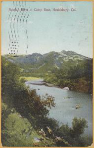 Russian River at Camp Rose, Healdsburg, CAL., - 1911