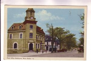 Post Office Shelburne, Nova Scotia, PECO