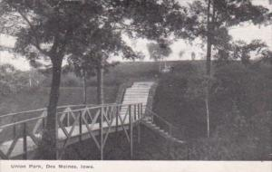 Iowa Des Moines Union Park Bridge
