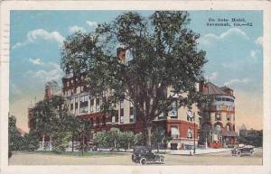 Georgia Savannah De Soto Hotel 1922