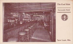 Missouri St Louis Coronado Hotel The Coal Hole Bar