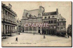 Old Postcard Bank Caisse d & # 39Epargne Mills