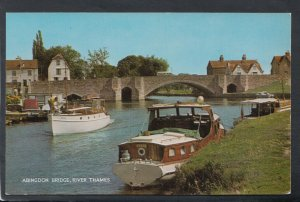 Oxfordshire Postcard - Abingdon Bridge, River Thames    T7207