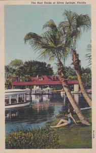 Florida Silver Springs The Boat Docks At Silver Springs