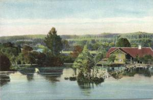 latvia, LIVONIA LIVLAND, Wenden Cesis, Mill Pond 1910s