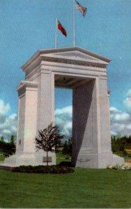 Washington Blaine Peace Arch Union 76 Card