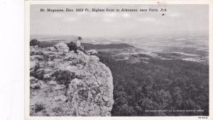 Near PARIS, Arkansas; Mt. Magazine, Elev. 2850 Ft., Highest Point, 00-10s