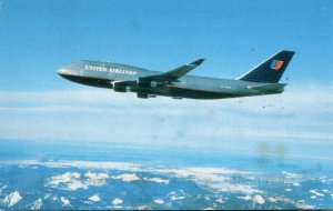 United Airlines Boeing 747-400 1998