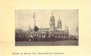 Postcard exhibitions Palace of British Art Franco-British Exhibion