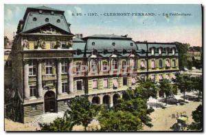 Old Postcard Clermont Ferrand Prefecture