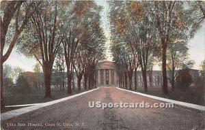 Utica State Hospital Utica NY 1910