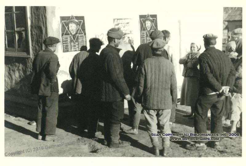 3rd Reich Anti-Semitic  Kuban Russia 35306