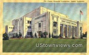Fresno Memorial Auditorium , CA