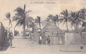 Senegal Saint-Louis Village indigene