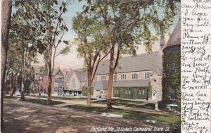 Maine Portland St Luke's Cathedral State Street 1907