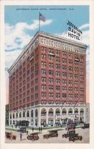 Alabama Montgomery Jefferson Davis Hotel