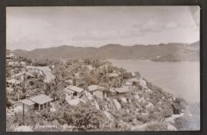 View Of Vacation Homes, Acapulco, Mexico - Real Photo - Unused 1950s