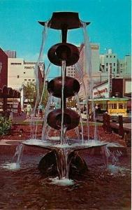 CA, Fresno, California, Fresno's Mall, Fountain, Dexter Press No. 99182-B
