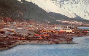 Seward Alaska Birdseye View Of City Vintage Postcard K52818