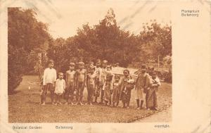 Java Indonesia~Plantentuin Buitenzorg~Kids Dress for Comfort Not Style~1908 PC